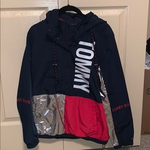Tommy Hilfiger Tops - Tommy Hilfiger windbreaker